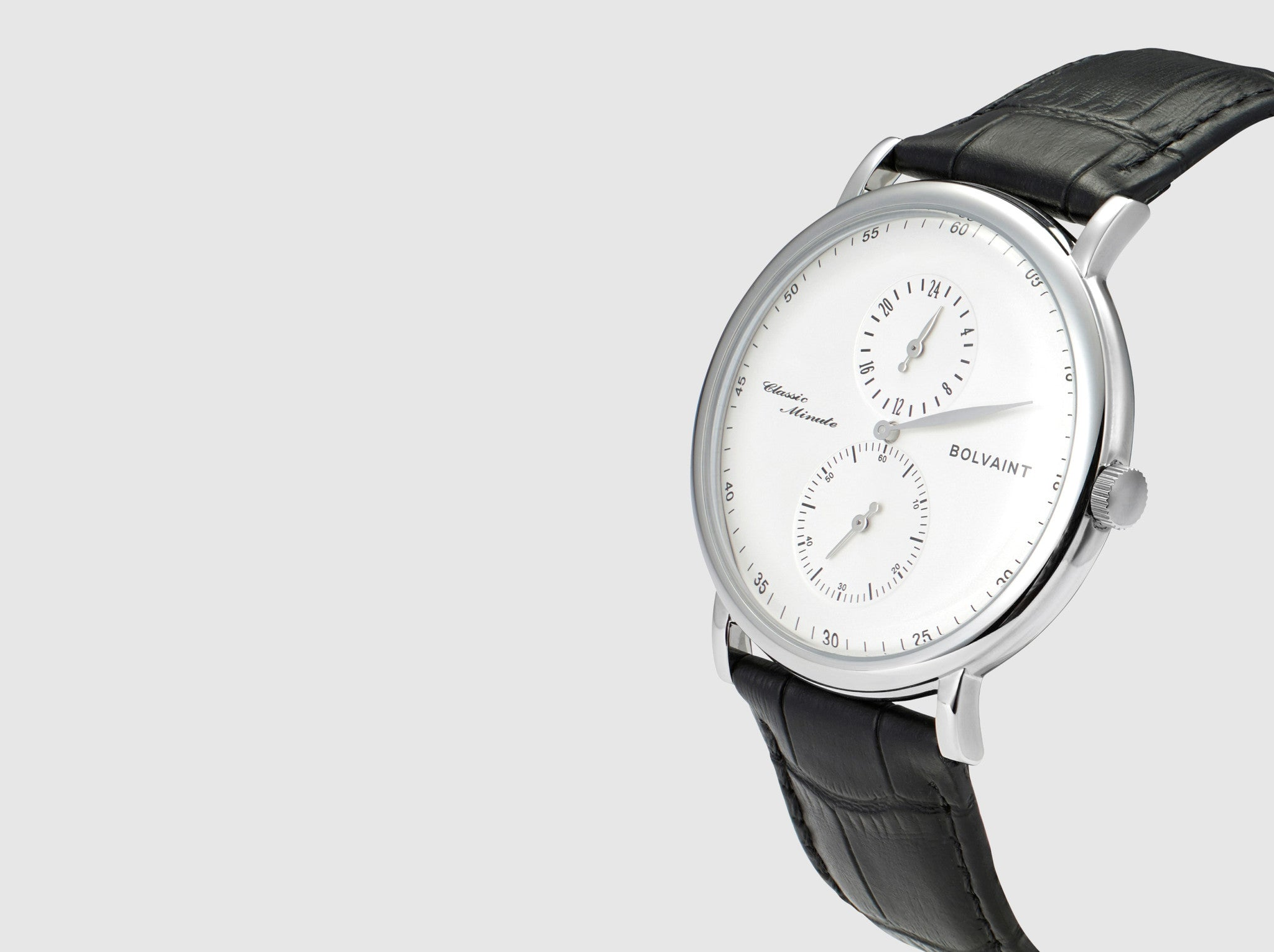 The Bolvaint Eanes Classic Minute in White