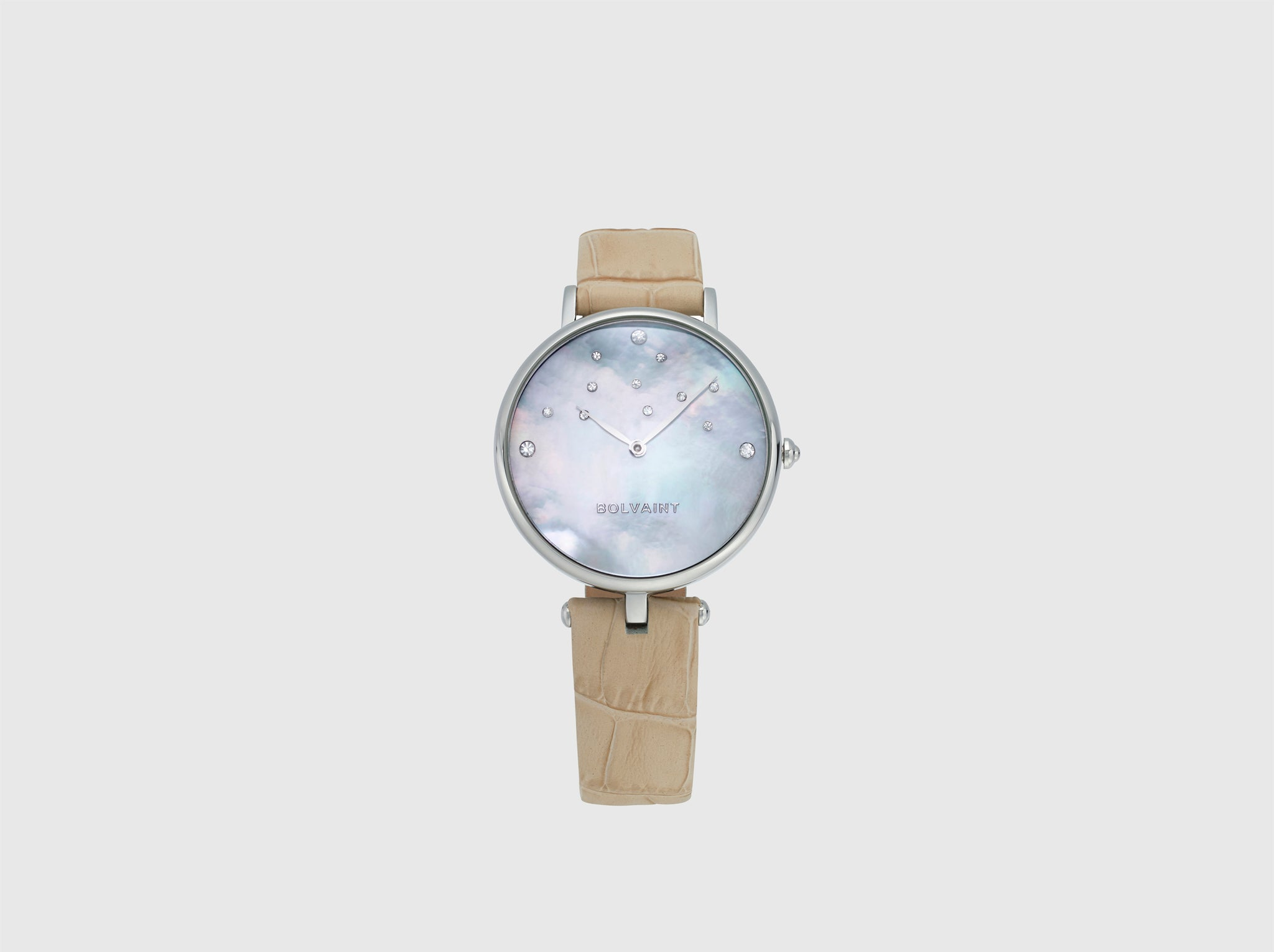 Bolvaint Nu'utea Mother-of-Pearl Ladies' Watch - South Sea White