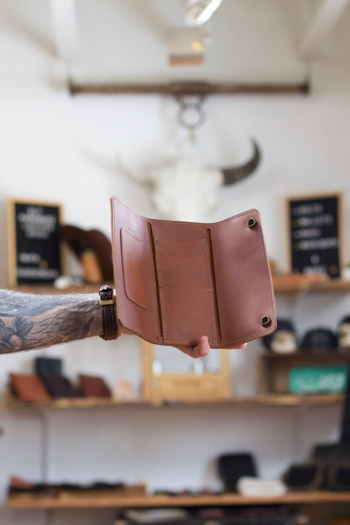 The Tri-Fold Long Wallet