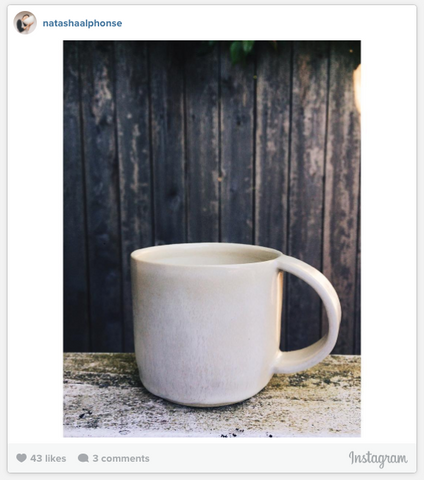 Natasha Alphonse Instagram Photo - White Mug