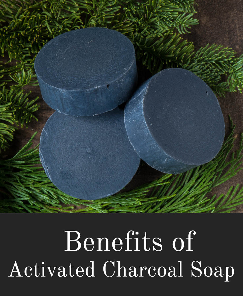 Benefits of Activated Charcoal Soap