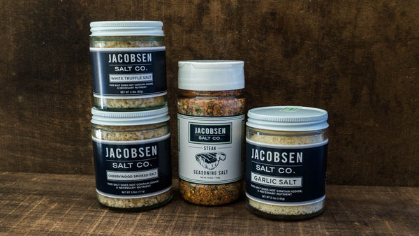 Flavored Salts from Jacobsen Salt
