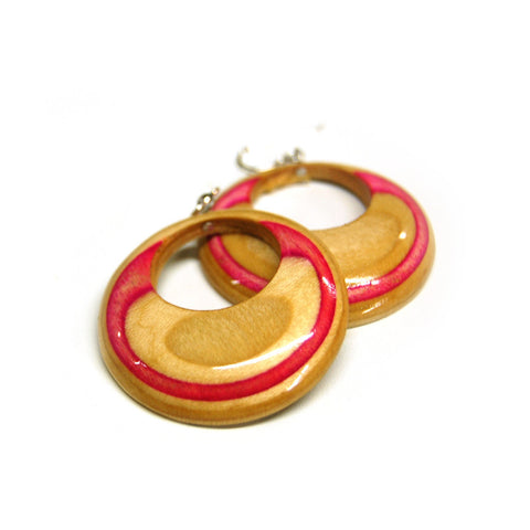 Skateboard Hoop Earrings