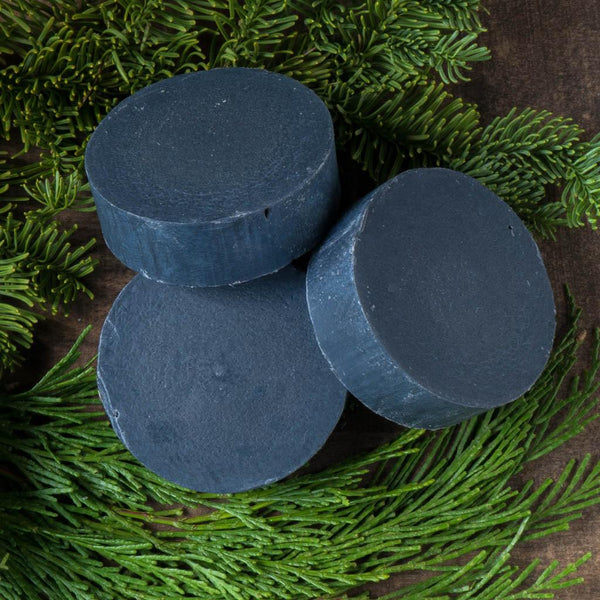 Black Bamboo Activated Charcoal Soap - Sappo Hill - Cascadian Dry Goods