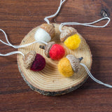 Felted Wool Acorn Ornament - House of Moss - Cascadian Dry Goods