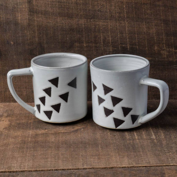 Flying Triangles Mug - Katie M Mudd - Cascadian Dry Goods