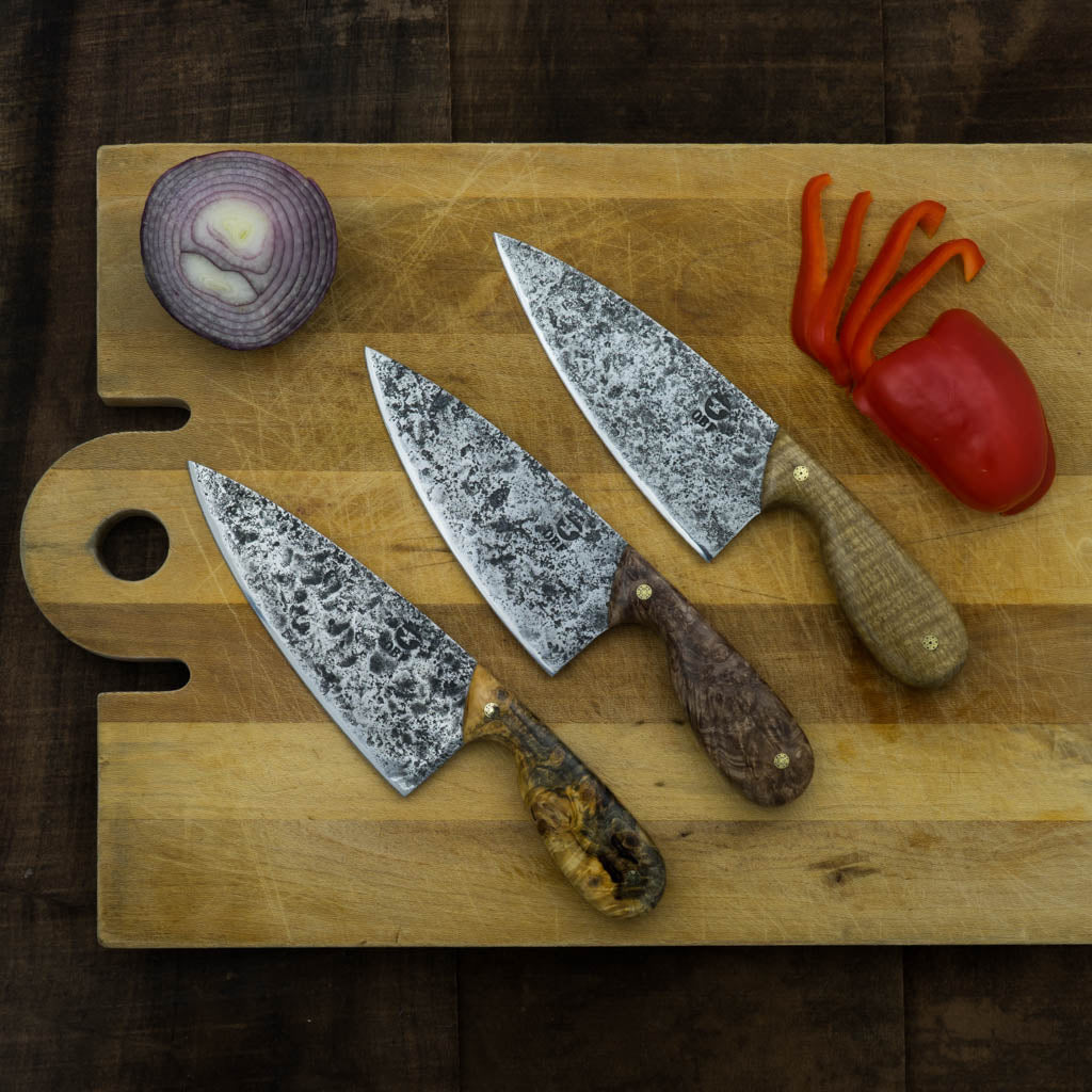 Large Chef Knife - Oaks Bottom Forge - Cascadian Dry Goods