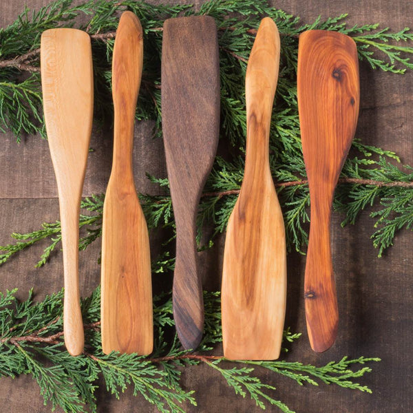 Wooden Stirring Paddle - Portland Spoon Company - Cascadian Dry Goods