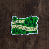 Pacific Wonderland Vinyl Sticker - acbc Design - Cascadian Dry Goods