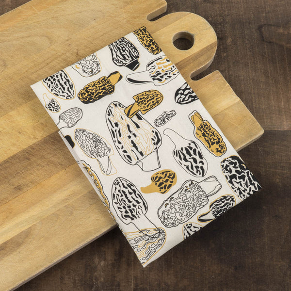 Morels Tea Towel - Nell & Mary - Cascadian Dry Goods