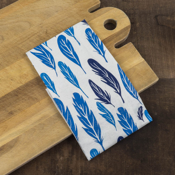 Feather Tea Towel - Chloe Derderian Gilbert - Cascadian Dry Goods