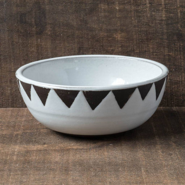 Triangle Band Bowl - Katie M Mudd - Cascadian Dry Goods