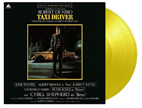 <b>Bernard Herrmann </b><br><i>Taxi Driver (Original Soundtrack Recording) [Yellow Vinyl]</i>