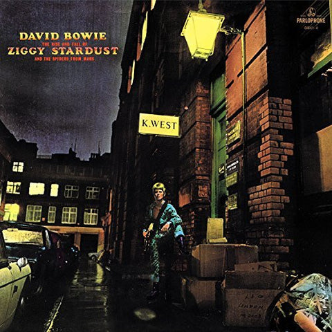 <b>David Bowie </b><br><i>The Rise and Fall Of Ziggy Stardust And The Spiders From Mars [2012 Remastered Version][Limited Edition][Gold Vinyl]</i>