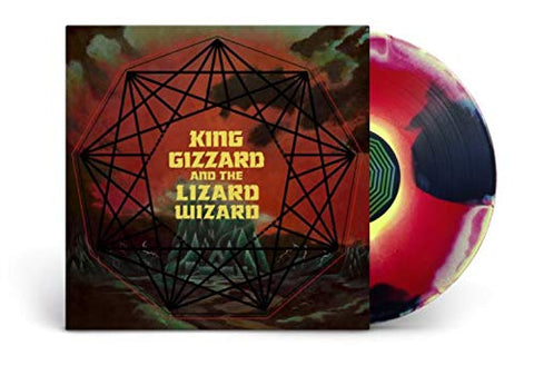 <b>King Gizzard And The Lizard Wizard </b><br><i>Nonagon Infinity [Red / Yellow / Black Mixed Vinyl]</i>