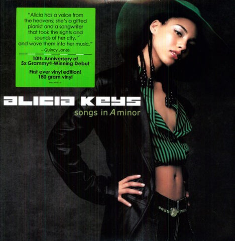 <b>Alicia Keys </b><br><i>Songs In A Minor</i>