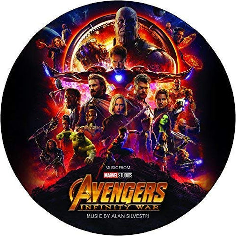 <b>Alan Silvestri </b><br><i>Avengers: Infinity War (Original Motion Picture Soundtrack) [Picture Disc]</i>