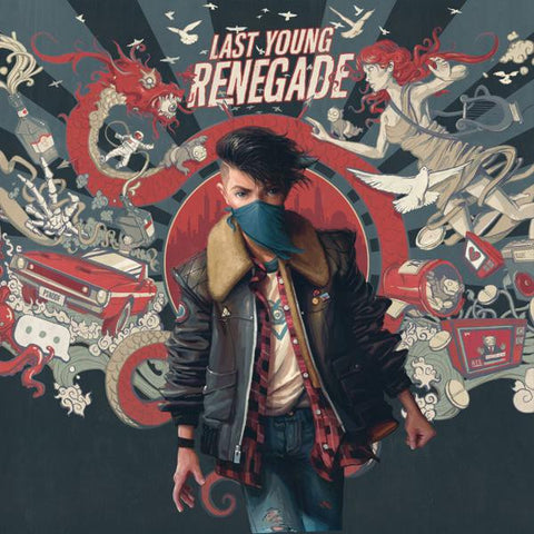 <b>All Time Low </b><br><i>Last Young Renegade</i>