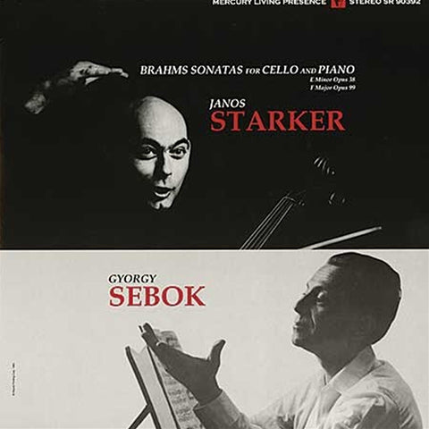 <b>Janos & Gyorgy Sebok Starker </b><br><i>Cello And Piano Sonatas</i>