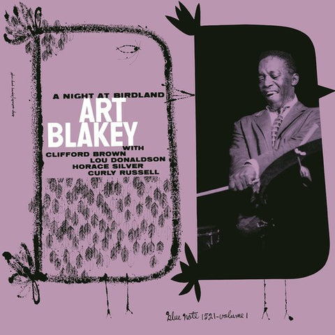 <b>Art Blakey Quintet </b><br><i>A Night At Birdland Volume 1</i>