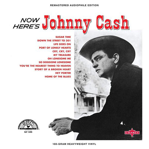 <b>Johnny Cash </b><br><i>Now Here's Johnny Cash [Colored Vinyl]</i>