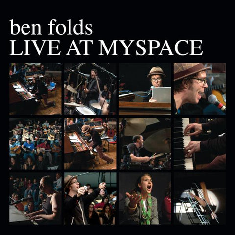 <b>Ben Folds </b><br><i>Live At Myspace [White Vinyl]</i>