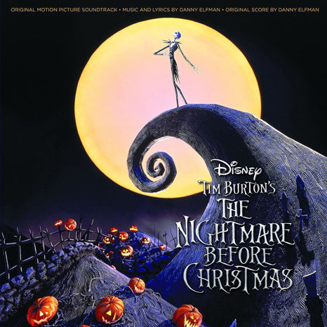 <b>Danny Elfman </b><br><i>Tim Burton's The Nightmare Before Christmas (Original Motion Picture Soundtrack)</i>