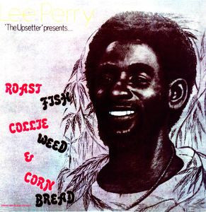 <b>Lee Perry </b><br><i>Roast Fish Collie Weed & Corn Bread</i>
