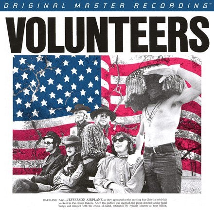 <b>Jefferson Airplane </b><br><i>Volunteers [2LP,  45 RPM]</i>