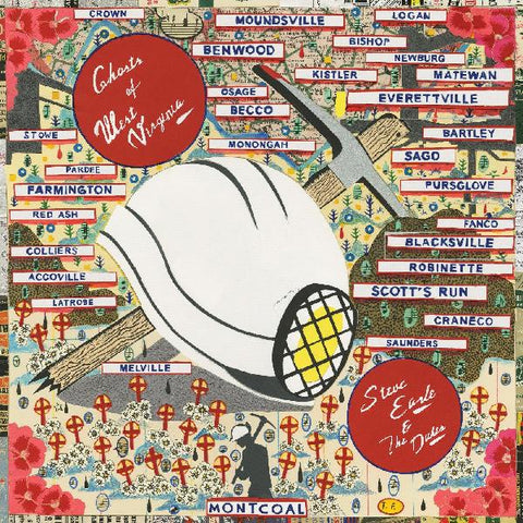 <b>Steve Earle And The Dukes </b><br><i>Ghosts Of West Virginia [Indie-Exclusive Colored Vinyl]</i>