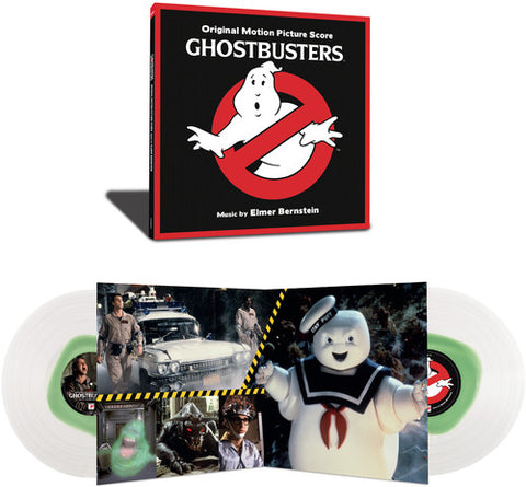 <b>Various </b><br><i>Ghostbusters (Original Soundtrack Album) [Clear Vinyl]</i>