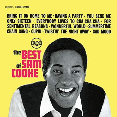 <b>Sam Cooke </b><br><i>The Best Of Sam Cooke</i>