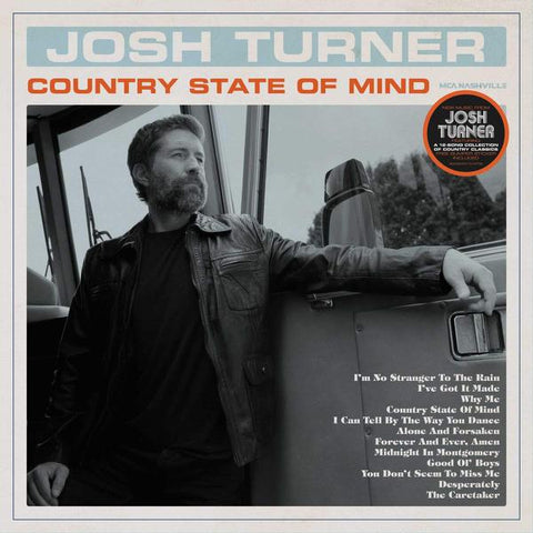 <b>Josh Turner </b><br><i>Country State of Mind</i>