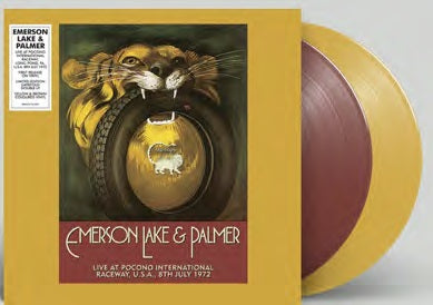 <b>Emerson Lake & Palmer </b><br><i>Live At Pocono International Raceway</i>