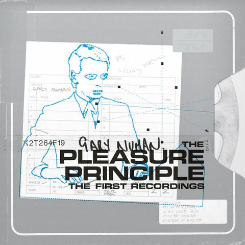 <b>Gary Numan </b><br><i>The Pleasure Principle: The First Recordings [Orange Vinyl]</i>