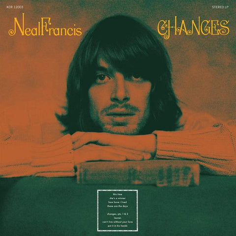 <b>Neal Francis </b><br><i>Changes [Black Vinyl]</i>