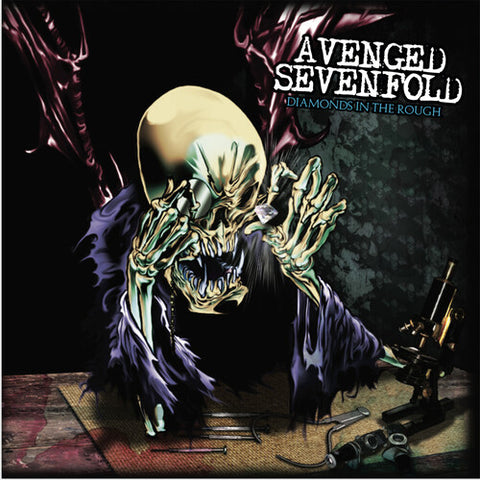 <b>Avenged Sevenfold </b><br><i>Diamonds In The Rough [Clear Vinyl]</i>