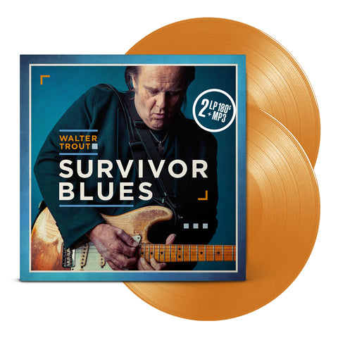 <b>Walter Trout </b><br><i>Survivor Blues [Limited Orange Vinyl]</i>