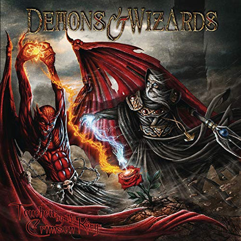 <b>Demons & Wizards </b><br><i>Touched By The Crimson King</i>