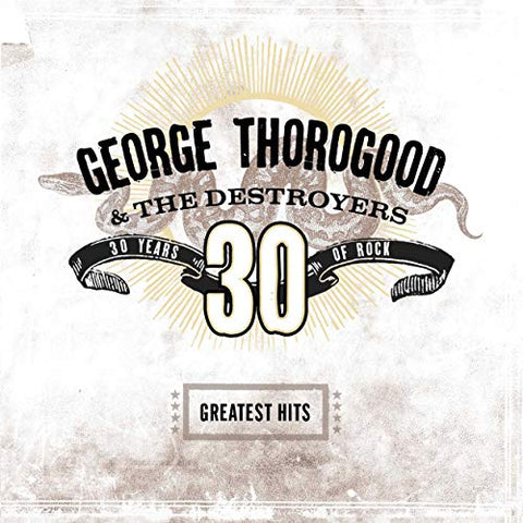<b>George Thorogood & The Destroyers </b><br><i>Greatest Hits: 30 Years Of Rock [Transparent Brown Vinyl]</i>