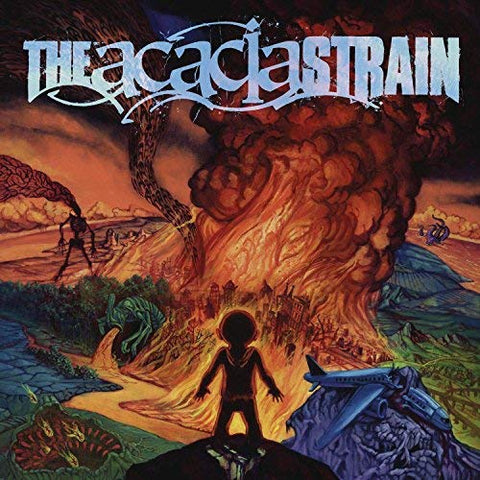 <b>The Acacia Strain </b><br><i>Continent [Blue w/ Orange & Yellow Splatter Vinyl]</i>