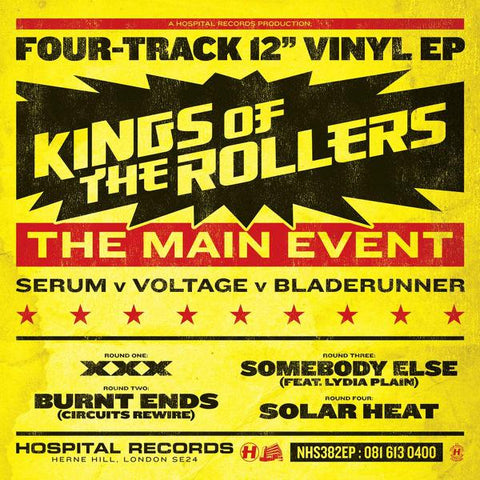 <b>Kings Of The Rollers </b><br><i>The Main Event EP</i>