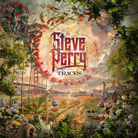 <b>Steve Perry </b><br><i>Traces [2LP, Lenticular Cover]</i>