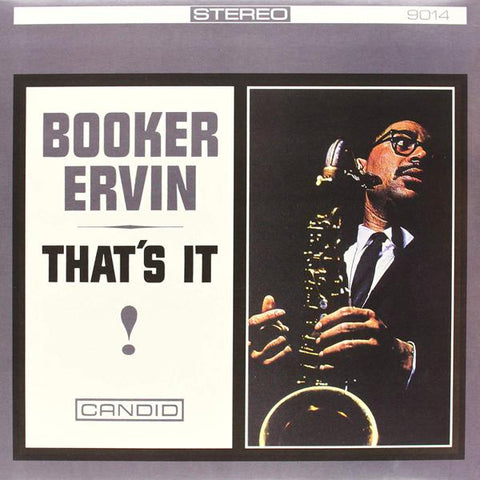 <b>Booker Ervin </b><br><i>That's It!</i>