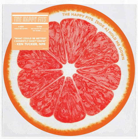 "<b>The Happy Fits </b><br><i>Grapefruit [7""] [Picture Disc]</i>"