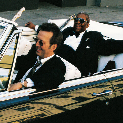 <b>B.B. King & Eric Clapton </b><br><i>Riding With The King (20th Anniversary Expanded & Remastered) [Indie-Exclusive Blue Vinyl]</i>