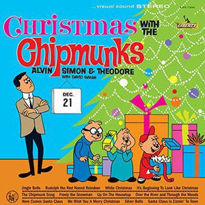 <b>Alvin, Simon And Theodore With David Seville </b><br><i>Christmas With The Chipmunks</i>