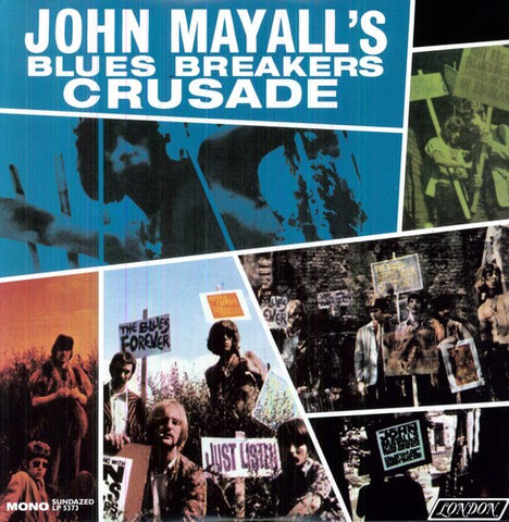 John Mayall Amp The Bluesbreakers Crusade Plaid Room Records