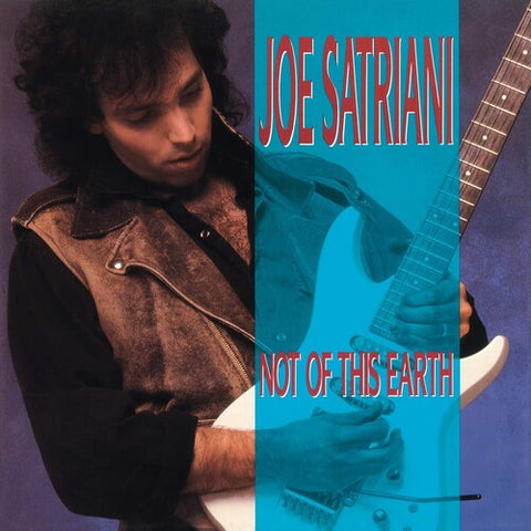 <b>Joe Satriani </b><br><i>Not Of This Earth [Import] [Blue Vinyl]</i>