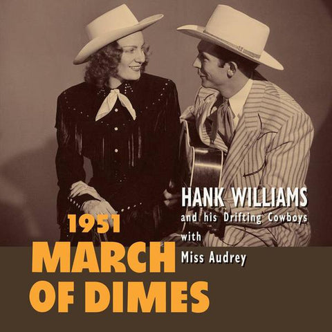 "<b>Hank Williams </b><br><i>March Of Dimes [10""]</i>"